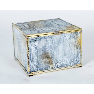 Small Square Box in Reflections Finish