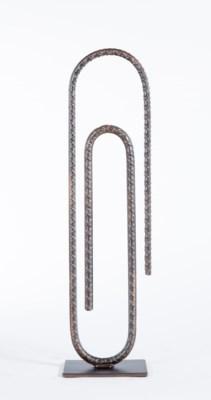 Paperclip in Bronze