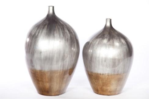 Large Bulb Vase in Folkstone Finish