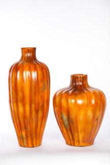 Large Vase in Mexico Sunset Finish