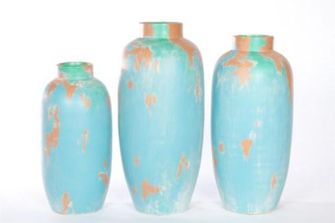 Large Vase in Moldives Finish