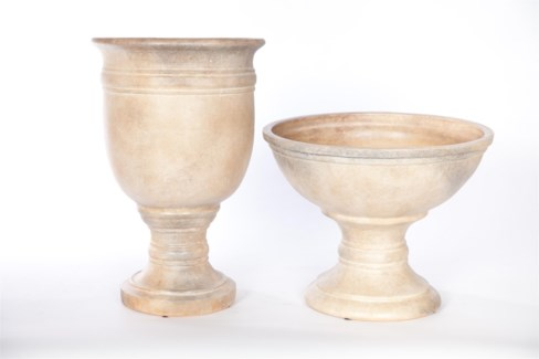 Turned Urn in Artifact Finish