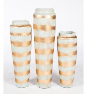 Small Floor Vase in Icelandic Gold