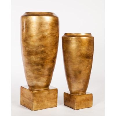 Large Urn in Saffron