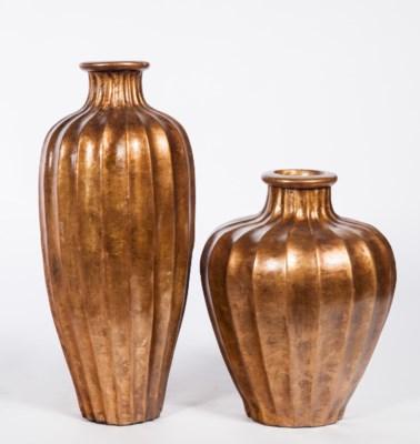 Large Vase in Harvest Glory