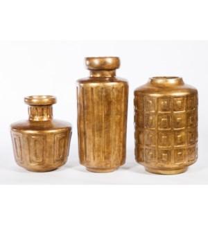 Small Vase in Saffron