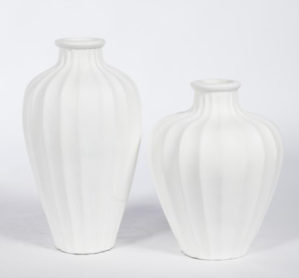 Large Vase in Bianca
