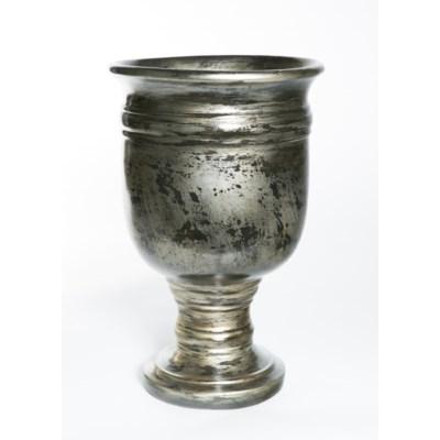 Turned Urn in Coal