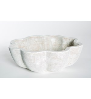 Terracotta Bowl in Vintage Blanco