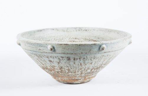 Industrial Bowl in Quails Egg Finish
