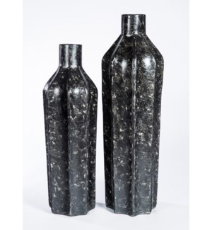 Large Floor Bottle in Cavern Finish