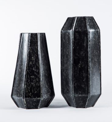 Large Vase in Cavern Finish