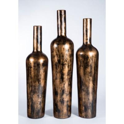 Large Floor Bottle in Copperhead Finish