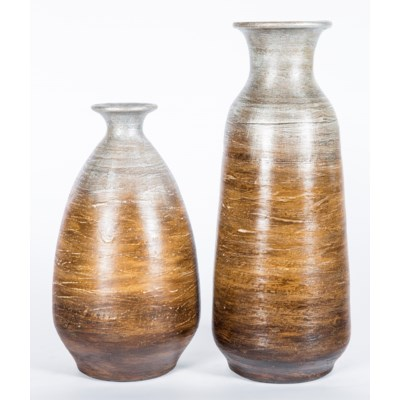 Large Vase in Cocoon Finish