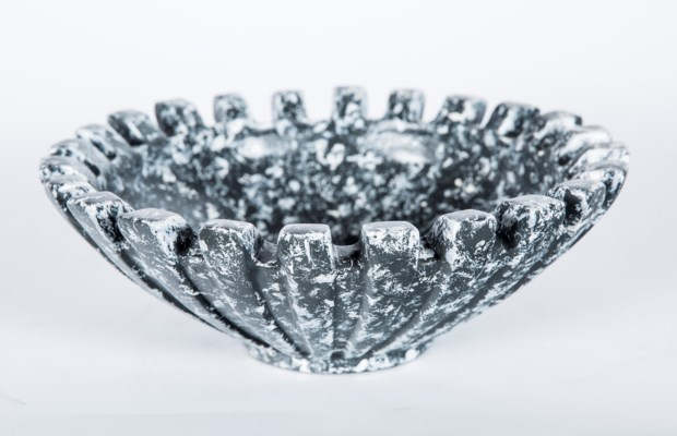 Bowl in Knight's Armor Finish