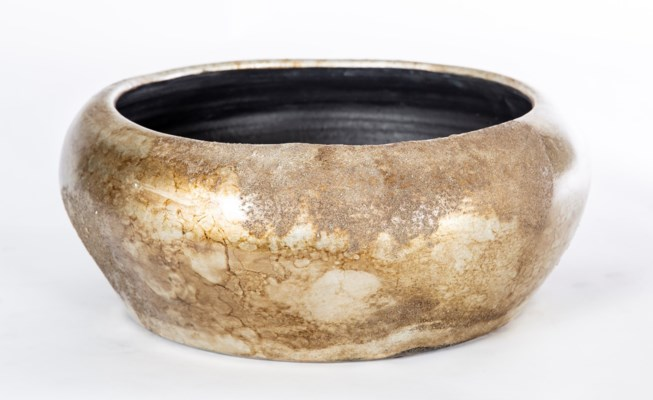 Bowl in Gold Nugget Finish