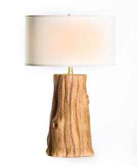 "Austin Table Lamp in Mumbai with 18"" White/White Drum Shade"
