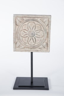 Medium Architectural Sculpture on Stand in Artifact Finish