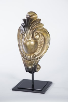 Medallion Sculpture in Aurum Finish