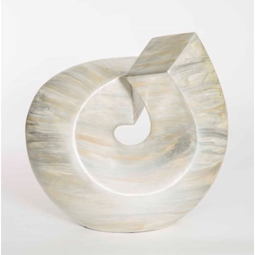 Roll Sculpture in Looking Glass Finish