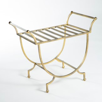 Bench in Antique Gold
