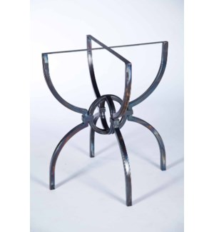 """Logan Dining Table Base Only for 48"""" Top"""