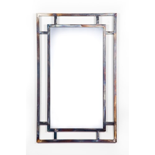 Rectangle Open Frame Mirror