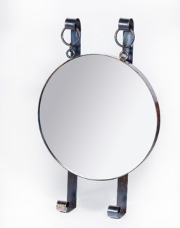 Edward Round Hanging Wall Mirror