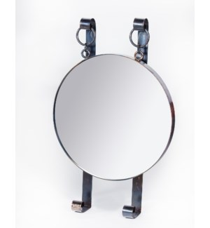 Edward Round Hanging Wall Mirror