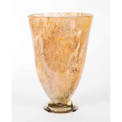 Miller Vase in Cocoa Cream Finish