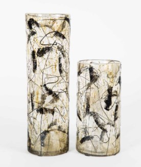 Large Cylinder Vase in Corona Finish
