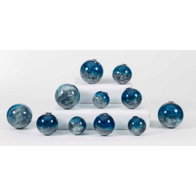 Set of 12 Spheres in Calypso Finish