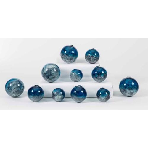 Set of 12 Spheres in Calypso Finish