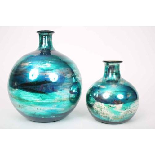 Small Bulb Vase in Aruba Finish