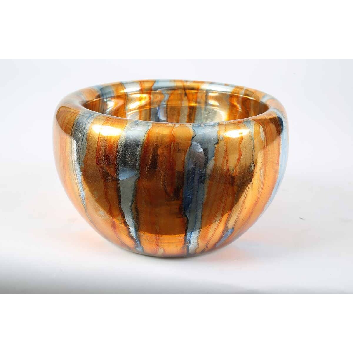 Double Sided Bowl in Glowing Umber Finish
