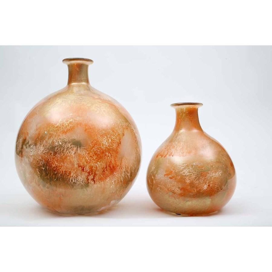 Large Bulb Vase in Goldfinch Finish