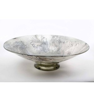 Large Bowl in Polar Ice Finish