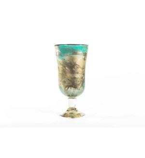 Morgan Vase in Dew Drop Finish