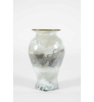Lewis Vase in Thundering Clouds Finish
