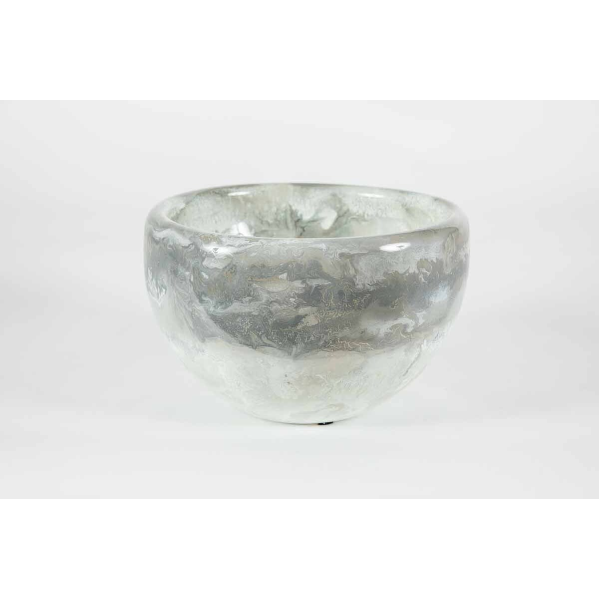 Double Sided Bowl in Thundering Clouds Finish
