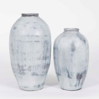 Large Table Jar in Whirlwind Finish