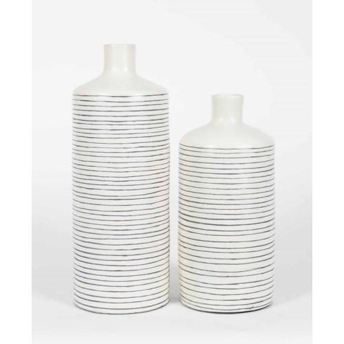 Large Table Vase in Polaris Finish