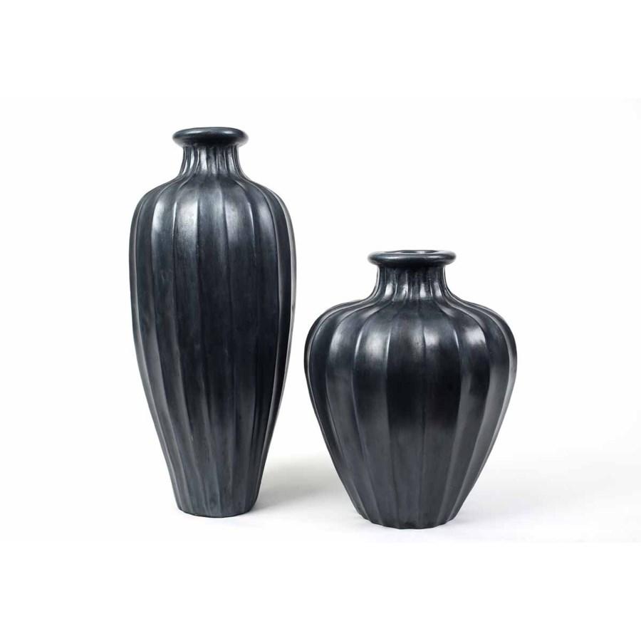 Large Vase in Caldron