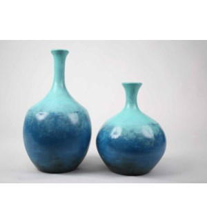 Small Mercer Vase in Ocean View Finish