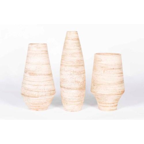 Large Vase in Plateau Finish
