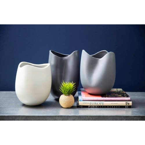 Large Open Mouth Vase in Cambridge Finish