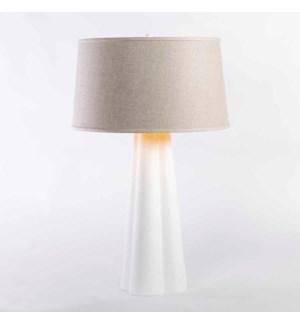 Ava Table Lamp in Bianca Finish