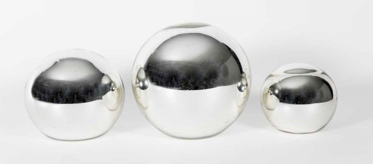 Mercury Spheres set of 3