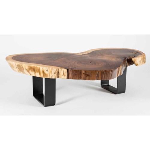 Live Edge Parota Wood Coffee Table