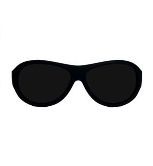 Babyfied Apparel - Sunglasses - Aviators - Matte Black 4-24 months